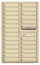 Florence 4C Mailboxes 4C14D-26 Sandstone