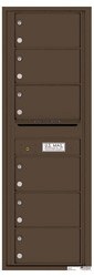 Florence 4C Mailboxes 4C14S-06 Antique Bronze