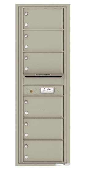 4C14S06 4C Horizontal Commercial Mailboxes
