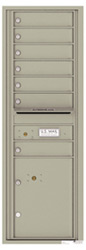 Florence 4C Mailboxes 4C14S-07 Postal Grey