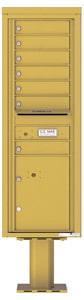 Florence 4C Pedestal 4C14S-07-P Gold Speck