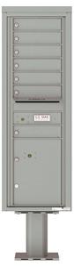 Florence 4C Pedestal 4C14S-07-P Silver Speck