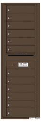 Florence 4C Mailboxes 4C14S-12 Antique Bronze