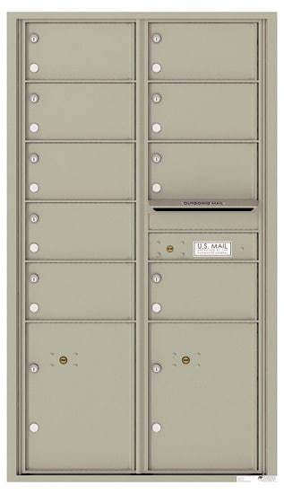 4C15D09 4C Horizontal Commercial Mailboxes