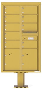 Florence 4C Pedestal 4C15D-09-P Gold Speck