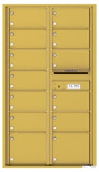 Florence 4C Mailboxes 4C15D-13 Gold Speck