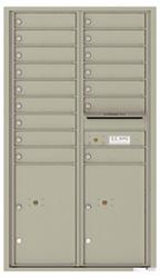Florence 4C Mailboxes 4C15D-16 Postal Grey