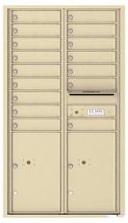 Florence 4C Mailboxes 4C15D-16 Sandstone