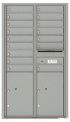 Florence 4C Mailboxes 4C15D-16 Silver Speck