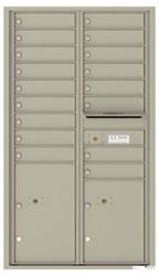 Florence 4C Mailboxes 4C15D-17 Postal Grey