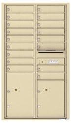 Florence 4C Mailboxes 4C15D-17 Sandstone