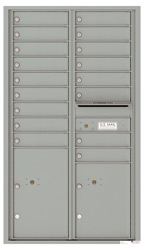 Florence 4C Mailboxes 4C15D-17 Silver Speck