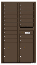 Florence 4C Mailboxes 4C15D-18 Antique Bronze