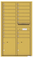 Florence 4C Mailboxes 4C15D-18 Gold Speck