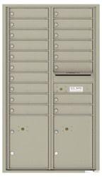Florence 4C Mailboxes 4C15D-18 Postal Grey