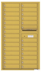 Florence 4C Mailboxes 4C15D-28 Gold Speck