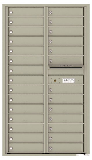 4C15D28 4C Horizontal Commercial Mailboxes