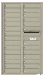 Florence 4C Mailboxes 4C15D-28 Postal Grey