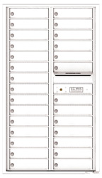 Florence 4C Mailboxes 4C15D-28 White