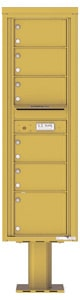 Florence 4C Pedestal 4C15S-06-P Gold Speck