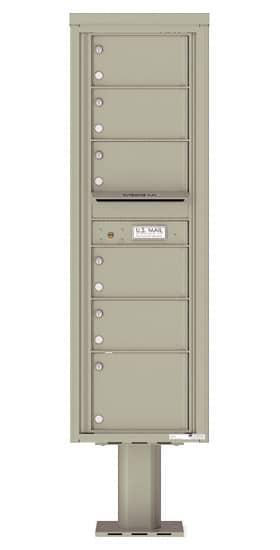 4C15S06-P Commercial 4C Pedestal Mailboxes