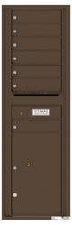 Florence 4C Mailboxes 4C15S-07 Antique Bronze