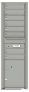 Florence 4C Mailboxes 4C15S-08 Silver Speck