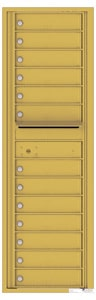 Florence 4C Mailboxes 4C15S-13 Gold Speck