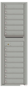 Florence 4C Mailboxes 4C15S-13 Silver Speck