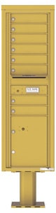 Florence 4C Pedestal 4C15S-13-P Gold Speck