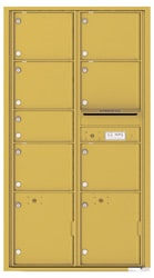 Florence 4C Mailboxes 4C16D-07 Gold Speck