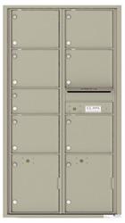 Florence 4C Mailboxes 4C16D-07 Postal Grey