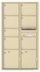 Florence 4C Mailboxes 4C16D-07 Sandstone