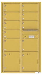 Florence 4C Mailboxes 4C16D-09 Gold Speck
