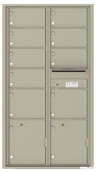 4C16D09 4C Horizontal Commercial Mailboxes
