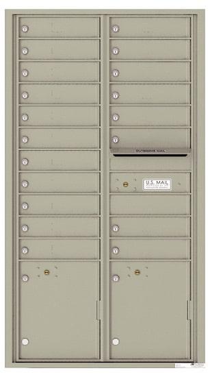 4C16D19 4C Horizontal Commercial Mailboxes