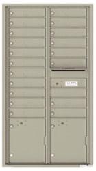 Florence 4C Mailboxes 4C16D-19 Postal Grey