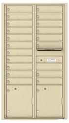 Florence 4C Mailboxes 4C16D-19 Sandstone
