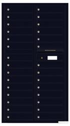 Florence 4C Mailboxes 4C16D-29 Black