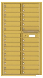 Florence 4C Mailboxes 4C16D-29 Gold Speck