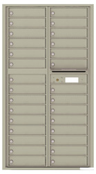 Florence 4C Mailboxes 4C16D-29 Postal Grey