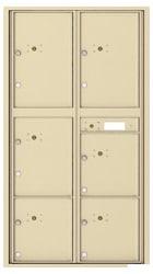 Florence 4C Mailboxes 4C16D-6P Sandstone