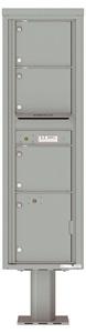 Florence 4C Pedestal 4C16S-03-P Silver Speck