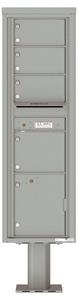 Florence 4C Pedestal 4C16S-04-P Silver Speck