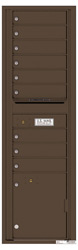 Florence 4C Mailboxes 4C16S-09 Antique Bronze