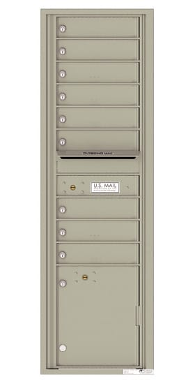 4C16S09 4C Horizontal Commercial Mailboxes