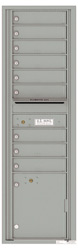 Florence 4C Mailboxes 4C16S-09 Silver Speck