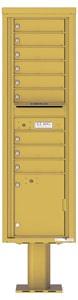 Florence 4C Pedestal 4C16S-09-P Gold Speck