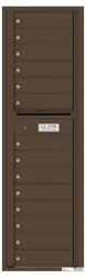 Florence 4C Mailboxes 4C16S-14 Antique Bronze