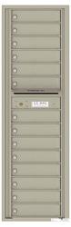 Florence 4C Mailboxes 4C16S-14 Postal Grey